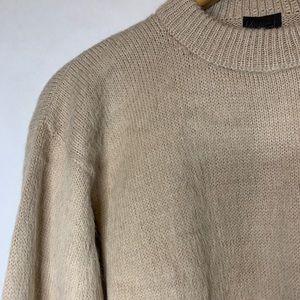 Artesanias 100% Alpaca Crew  Sweater